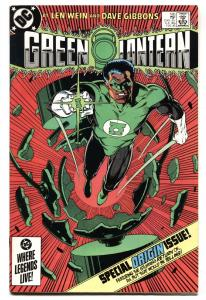 GREEN LANTERN #185 ORIGIN ISSUE-comic book VF/NM