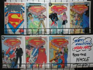 MAN OF STEEL 1-6 COMPLETE  JOHN BYRNE CLASSIC both #1 covers