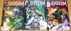 Doctor Doom #1-3 VF/NM complete series CHUCK DIXON leonardo manco marvel set 2