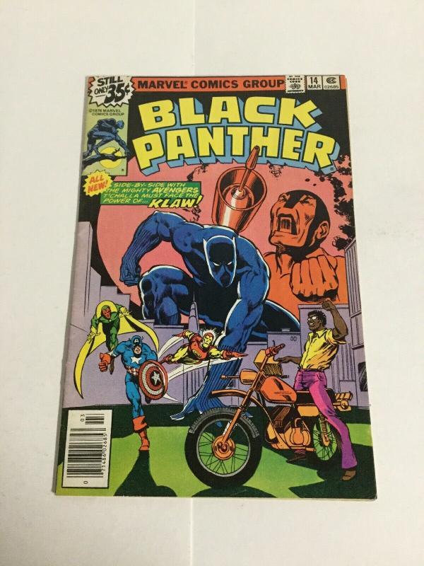 Black Panther 14 Fn- Fine- 5.5 Marvel