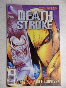 DEATHSTROKE # 12