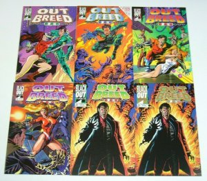 Outbreed 999 #1-5 VF/NM complete series + gold variant - Extreme Violet intro