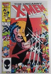 The Uncanny X-Men #211 - Beautiful Book - 1st Full Marauders - NM+ Marvel 1986