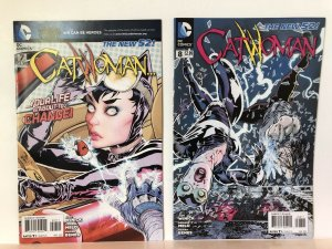 Catwoman #7 And #8  Lot Of 2