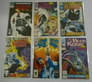 Marc Spector Moon Knight lot 17 different from #31-50 avg 8.0 VF (1991-93)