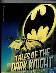 Tales Of The Dark Knight Batman's First 50 Years Softcover Book Comic DC J146