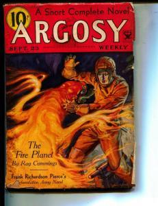 Argosy-Pulp-9/28/1933-Ray Cummings-Ferrin Fraser