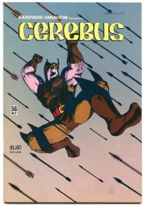 Cerebus #56 1983- Wolverine Parody- Wolveroach origin Dave Sims NM-