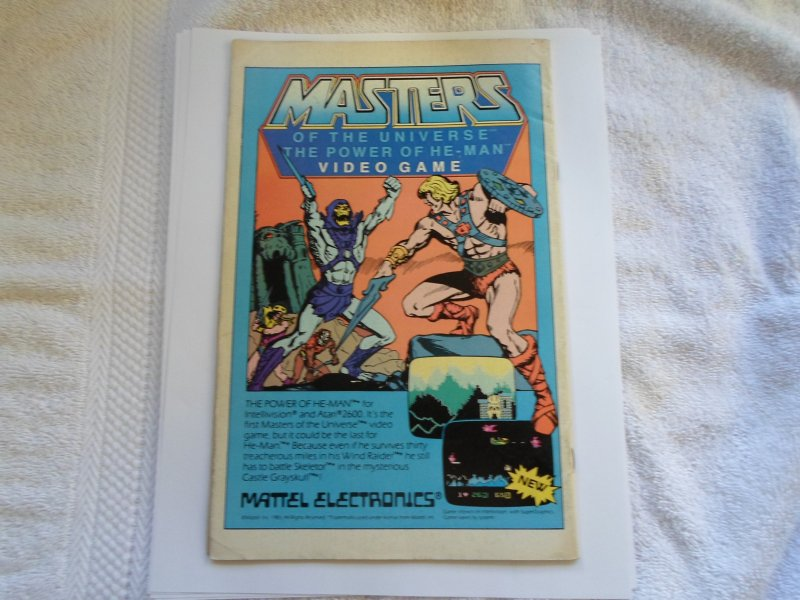 1983 DC COMIC ENTER THE LOST WORLD OF THE WARLORD # 79
