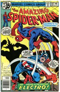 AMAZING SPIDER-MAN #187, VF/NM, Captain America, Electro, 1963, more in store