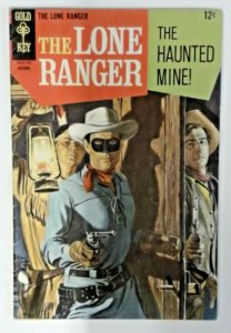 The Lone Ranger 8  FN+  Gold Key 1967  Silver Age  Western Cowboy Comics