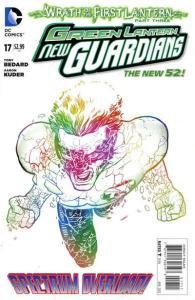 Green Lantern: New Guardians #17, NM (Stock photo)