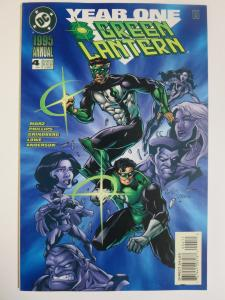 Green Lantern Annual #4 (DC 1995) Year One Early Work! Signed by Dexter Vines