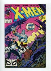 Uncanny X-Men 248 FN/VF 1st Jim Lee X-men book