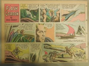 Flash Gordon Sunday Page by Mac Raboy from 6/10/1956 Half Page Size