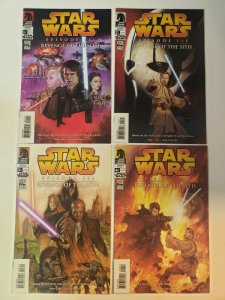 Star Wars Episode 3 Revenge of the Sith #1-4 Complete Set VF Dark Horse Comics