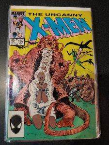 Uncanny X-Men #187 VF/NM