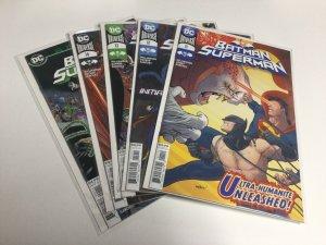 Batman/Superman 11 12 13 14 Annual 1 Nm Near Mint DC Comics