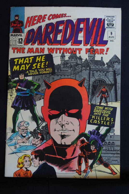 Daredevil #9, 6.5, Wally Wood art and cover!