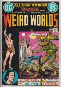 Weird Worlds #1 (Aug-72) VF High-Grade John Carter Warlord of Mars, David Innes