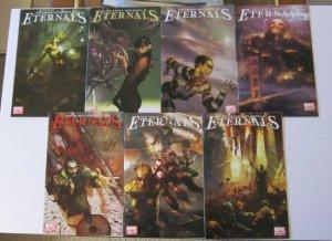 Eternals #1-7 Complete Set High Grade NM 1st Print Marvel Comics Neil Gaiman