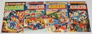 the Destructor #1-4 FN complete series - steve ditko - wally wood  atlas comics