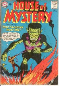 HOUSE OF MYSTERY 138 VG-  October 1963 COMICS BOOK