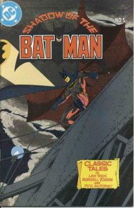 Shadow of the Batman #5, VF+ (Stock photo)