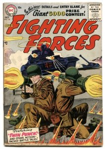 Our Fighting Forces #14 1956-DOUBLE BAZOOKA COVER f/vf