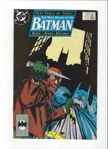 Batman #435 Mnay Deaths of Batman  VF