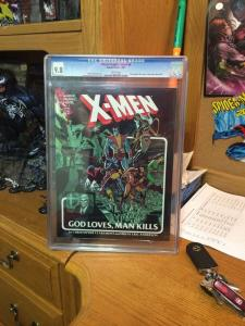 God Loves Man Kills Marvel Graphic Novel 5 X-men First 1St Printing Cgc 9.8 WP