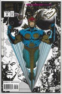 New Warriors (vol. 1, 1990) #40 FN (Starlost 1) Nicieza/Robertson, Nova