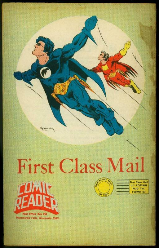 The Comic Reader Fanzine #151 1977- Jim Starlin Superman cover G
