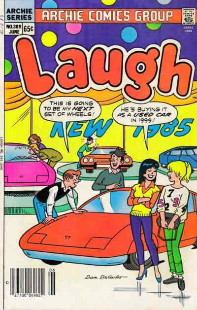 Laugh Comics #389 FN; Archie | save on shipping - details inside