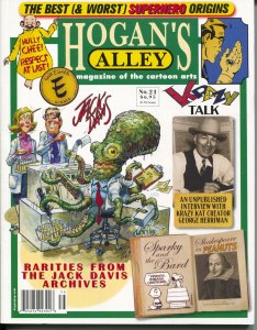Hogan's Alley #21 2017-Geroge Herriman-Jack Davis-Peanuts-VF