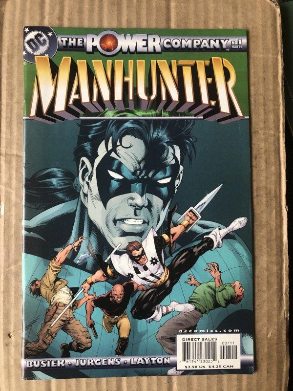 The Power Company: Manhunter #1 (2002)