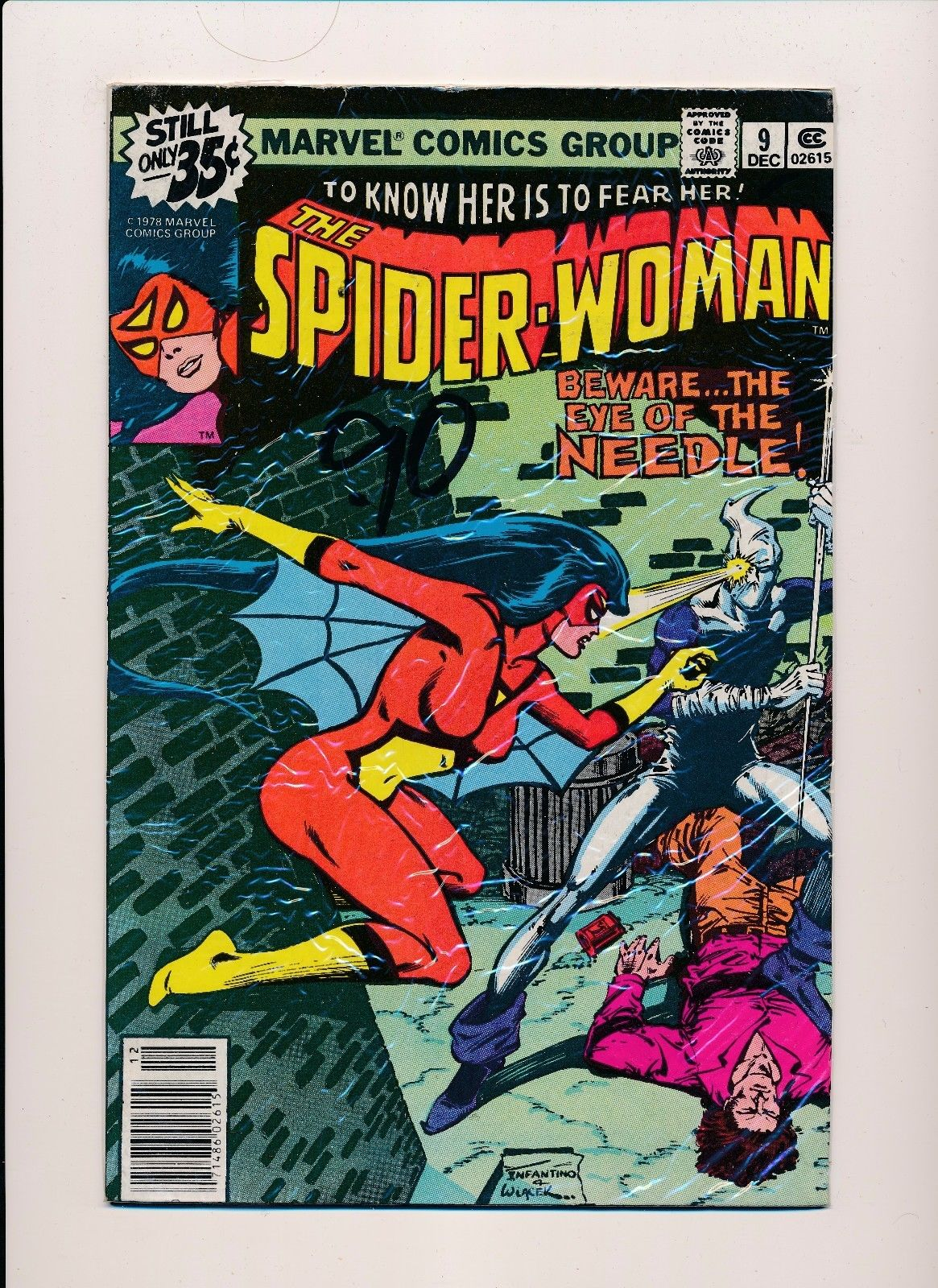 Spider-Woman #2 FN 1978 Stock Image
