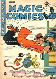 Magic Comics #59, Good- (Stock photo)