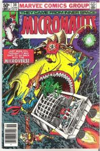 Micronauts (1979 series) #30, VG+ (Stock photo)