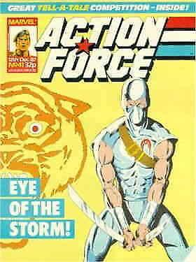 Action Force (Marvel UK) #41 FN; Marvel UK | save on shipping - details inside
