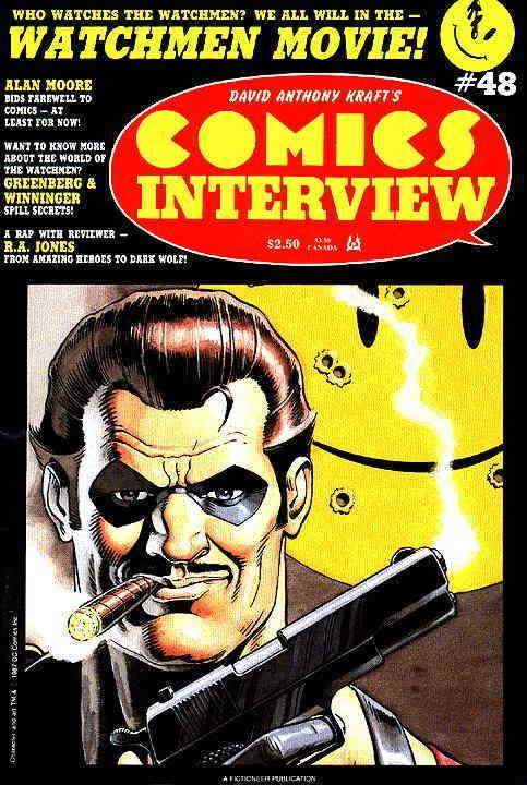 Comics Interview #48 VG; Fictioneer | low grade comic - save on shipping - detai