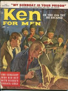 Ken For Men 3/1959-Cossacks-spies-John Leone-Syd Shores-cheesecake-G/VG