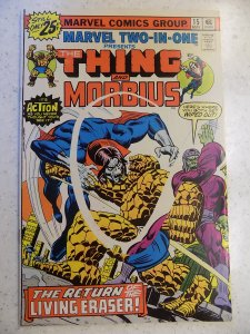 MARVEL TWO-IN-ONE # 15 THING MORBIUS MOVIE VAMPIRE ACTION ADVENTURE