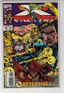 X-FACTOR (1986 MARVEL) #101 NM- A08673