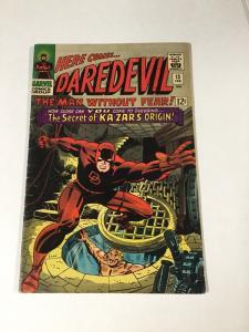 Daredevil 13 5.0 Vg/fn Very Good / Fine Marvel Silver Age