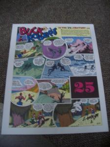 BUCK ROGERS #25-ITALIAN SUNDAY STRIP REPRINTS-CALKINS FN