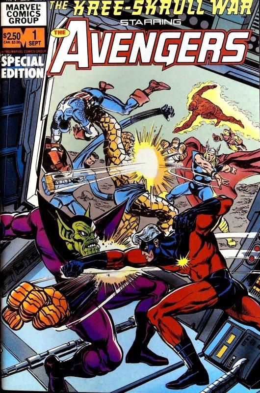 The Kree-Skrull War Starring the Avengers #1 (1983)