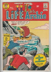 Life with Archie #135 (Jul-73) NM- High-Grade Archie, Jughead, Betty, Veronic...