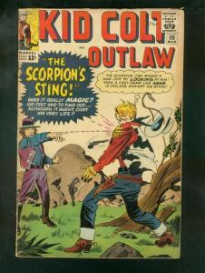 KID COLT OUTLAW #115 1964-THE SCORPIONS STING G/VG