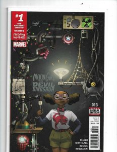 Moon Girl and Devil Dinosaur #13 Marvel Comics 1st Print nw16